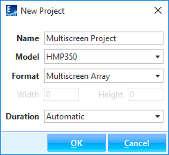 Creating a new multiscreen project
