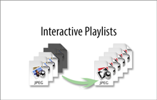 Interactive playlists